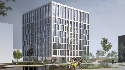 VIB/PMV<br><span style='color:#31495a;font-size:12px;'>Honorable 2nd for competition new head office and Bio-Incubator</span>