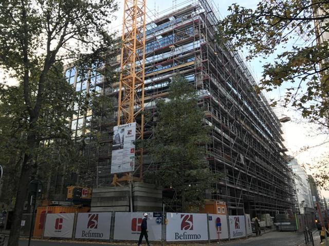 Office building Guimardstraat 9