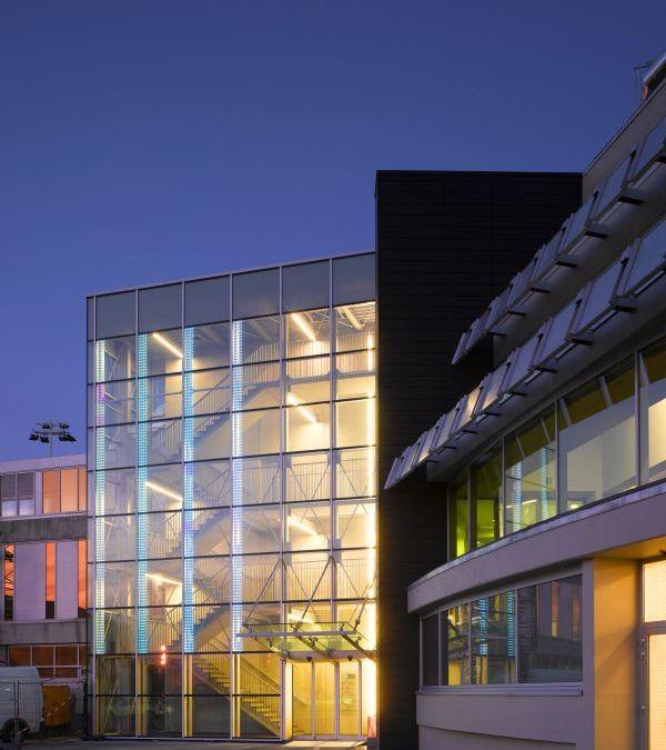 Architecture reflects corporate culture.