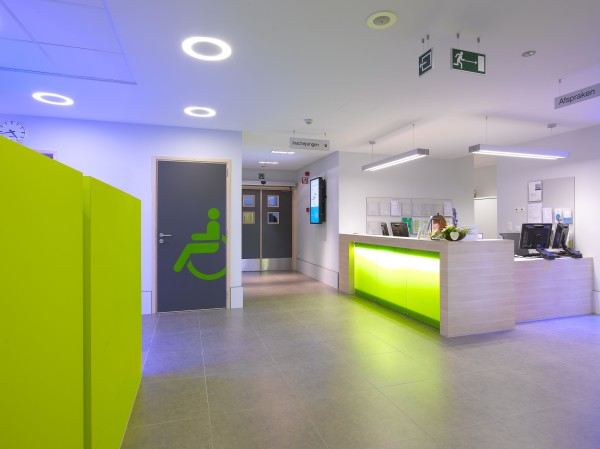 Kankercentrum, oncologisch dagziekenhuis en consultaties (fase 2,3), ziekenhuis Sint-Augustinus, Wilrijk