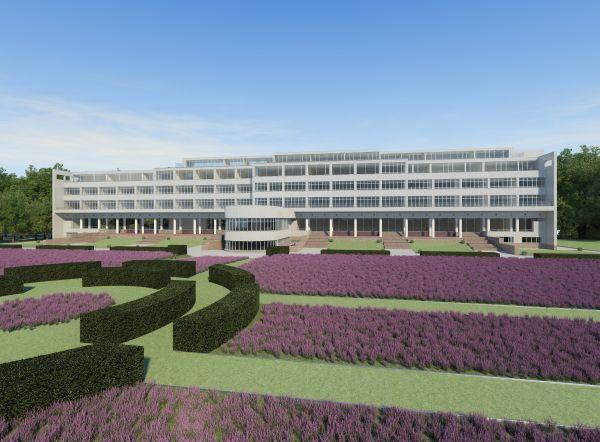 Restauratie WZC assistentiewoningen sanatorium Lemaire, project gezondheidszorg SVR-ARCHITECTS