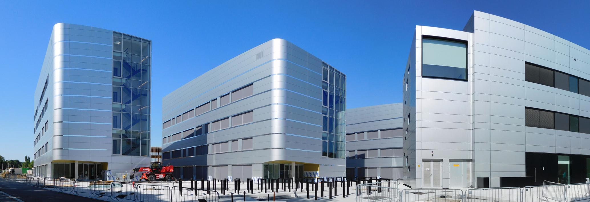 Bioscape, bio-tech gebouwen