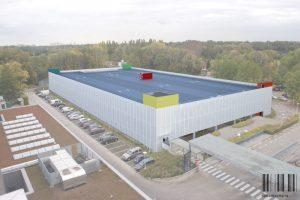 Rendering nieuw parkeergebouw 2-UZA