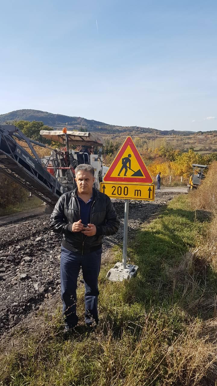 Miletić obišao početak izgradnje puta, foto: N.Ž.