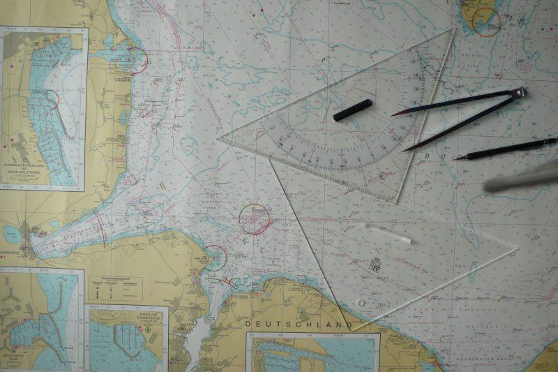 Sportküstenschifferschein – Seekarte