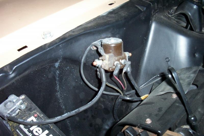 1966 Ford Mustang Wiring Diagram 1965 Ford Mustang Starter Solenoid
