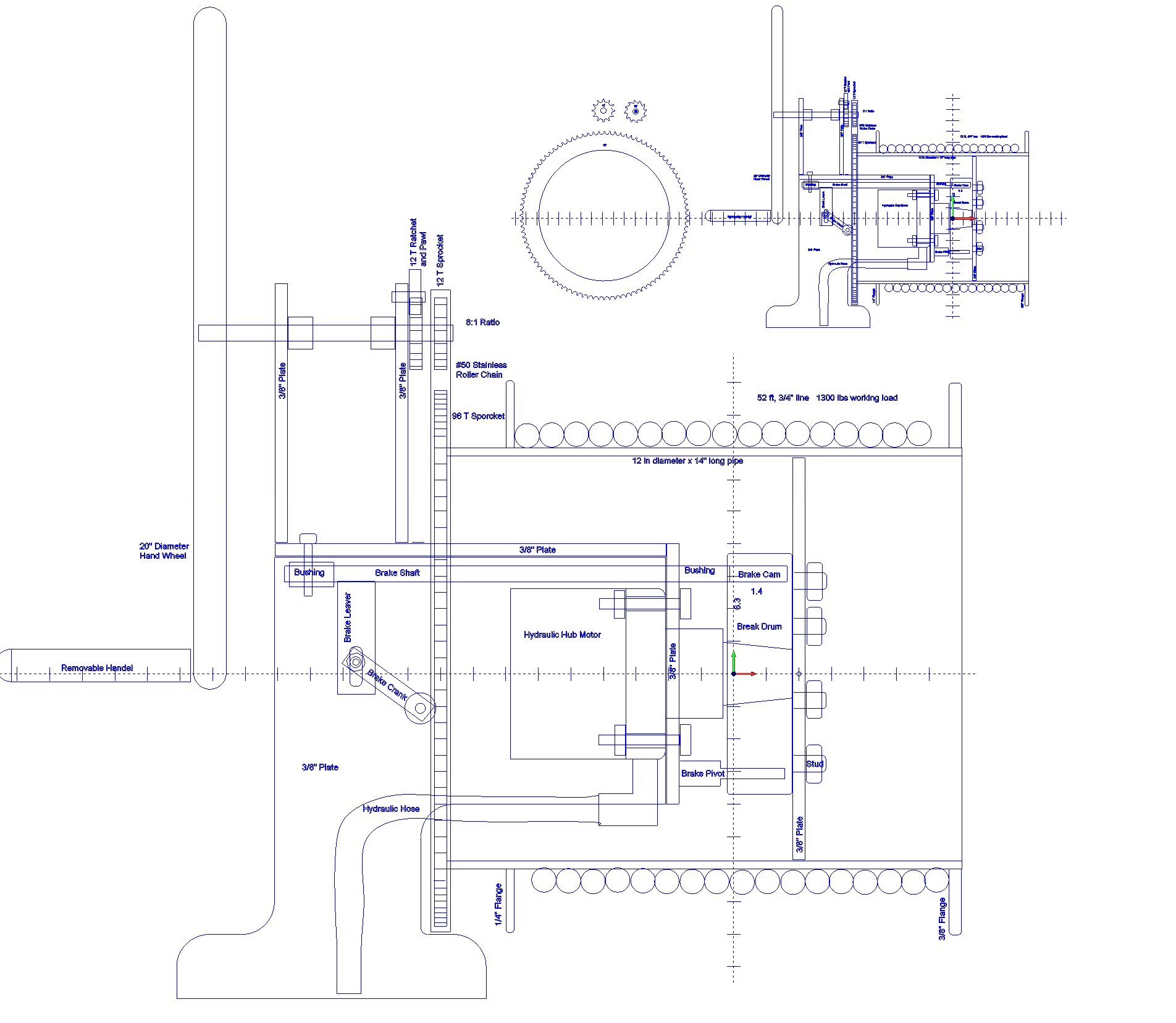 Sailing Winch Schematic Diy Enthusiasts Wiring Diagrams Diagram For Chicago Electric Winches Sv Seeker Rh Svseeker Com Solenoid