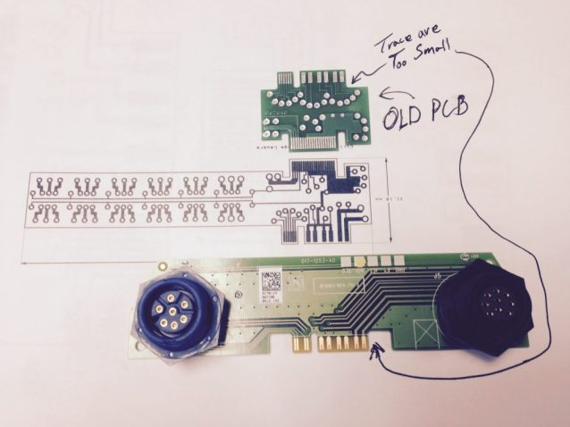 New SonarHub Interface PCB design