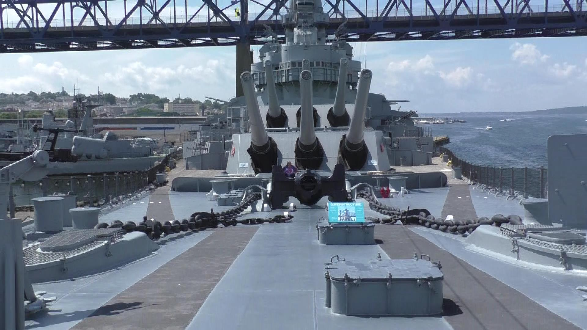 Get A Quick Glimpse At Battleship Cove I Recommend Reading Or Listening To Neptunes Inferno The US Navy Guadalcanal Real Sense Of What It