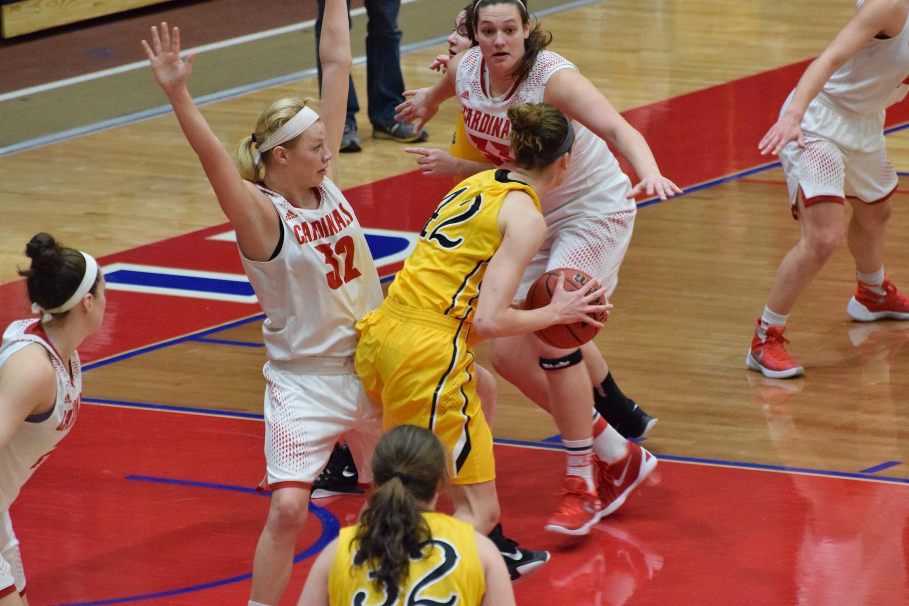 Women's Basketball vs. Michigan Tech - February 13. 2016 - Saginaw Valley State