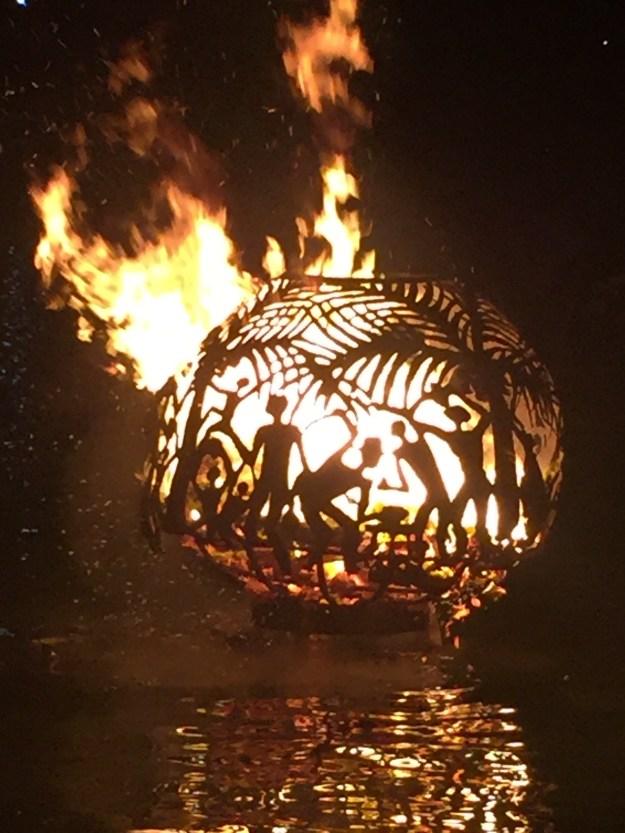 Fireball in Trellis Bay. So pretty!!