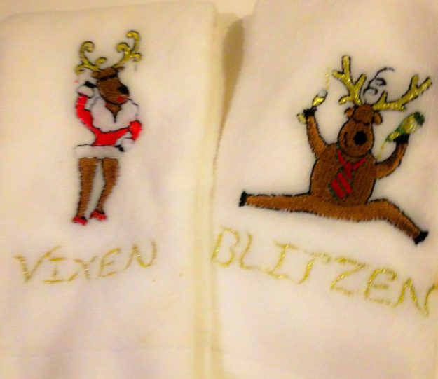 Christmas Towels: Who do they belong too?