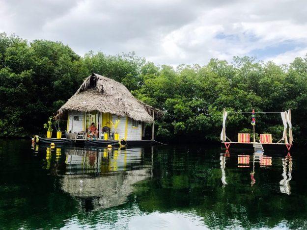 Floating House in Bocas del Toro