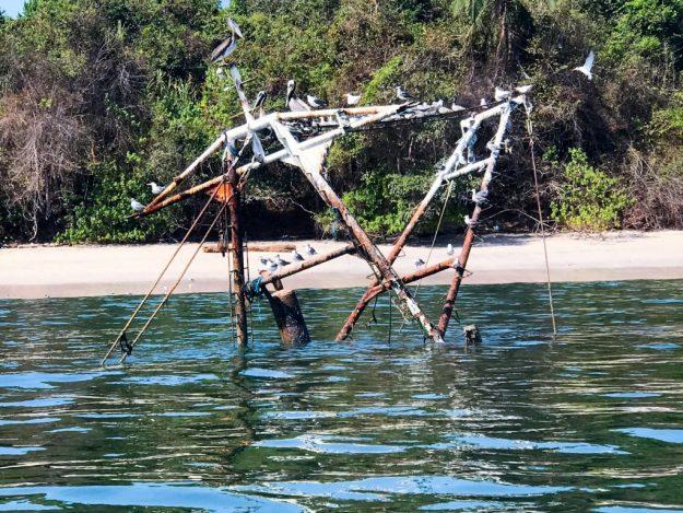Sunken Fishing Vessel at Isla Del Rey
