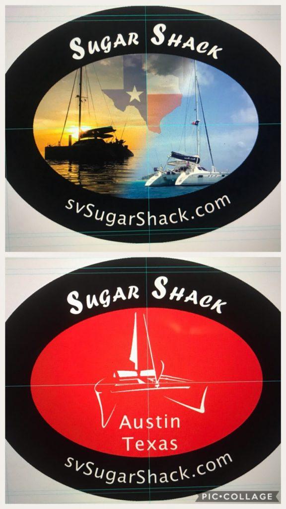 Sugar Shack Stickers