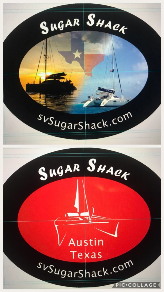Sugar Shack Stickers