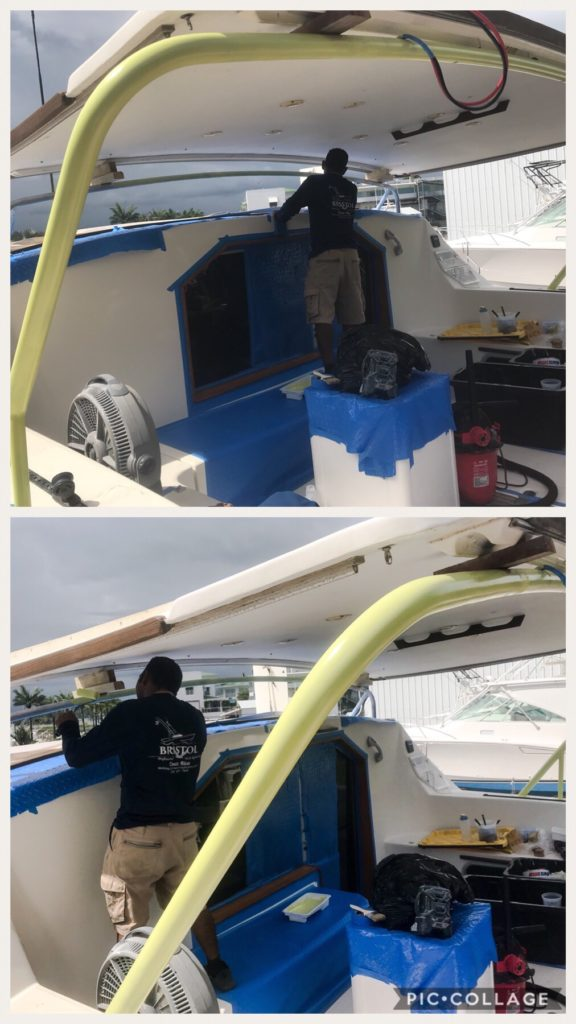 Bimini Supports with Primer