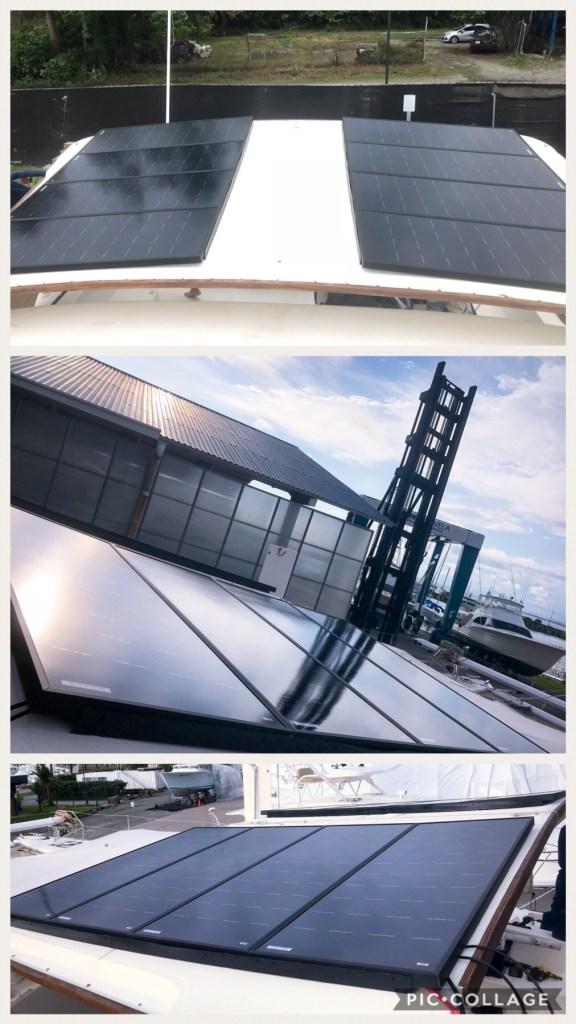 New Solar Panels Providing Energy