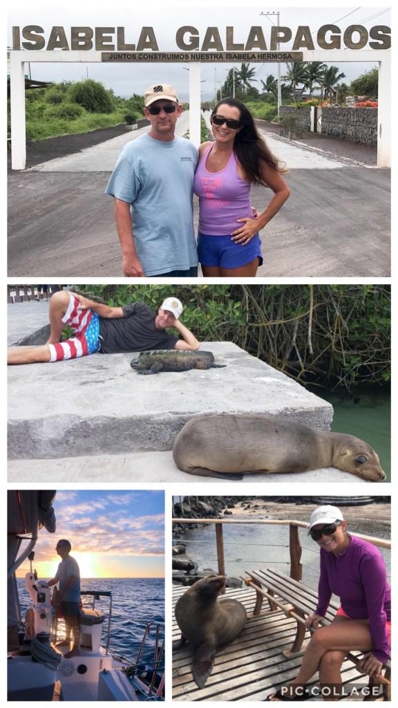Touring around Isla Isabela