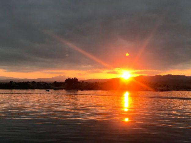 Sunset in Bahia Salado