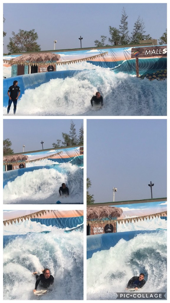 Surfing Lessons at Mall Sport