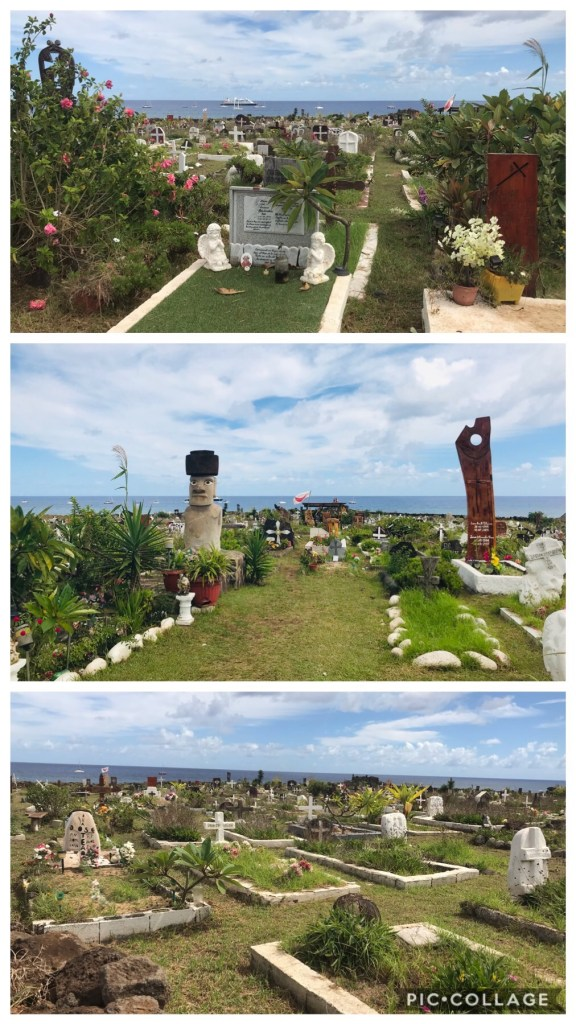Cemetery with live gardens