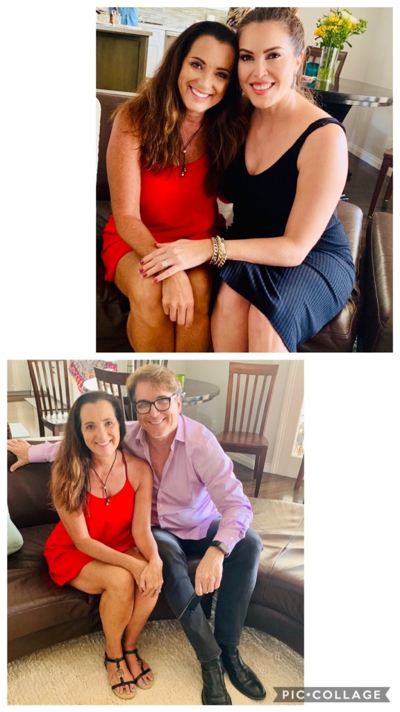 Kathryn and Gene visit