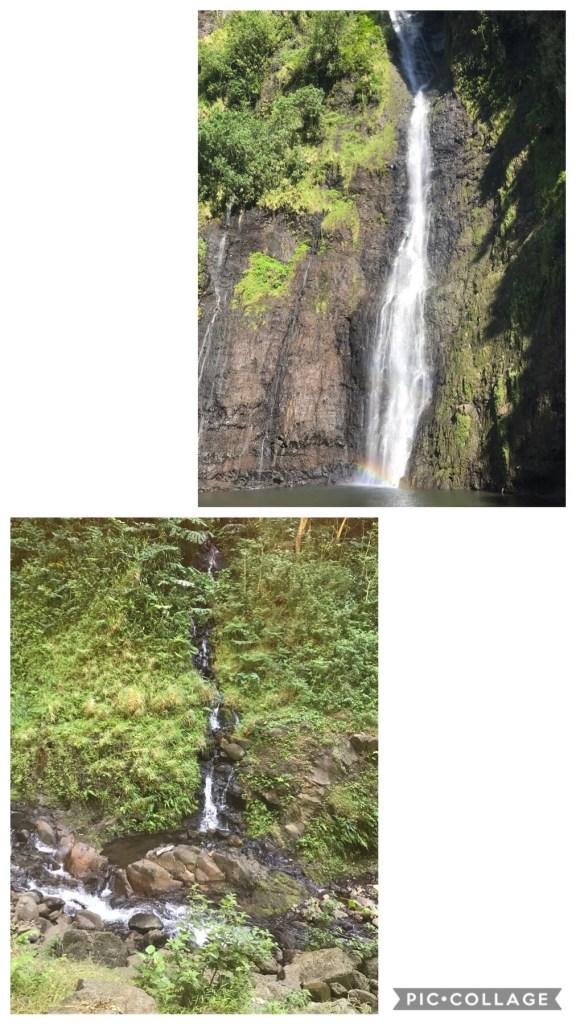 Tres Cascades in Tahiti