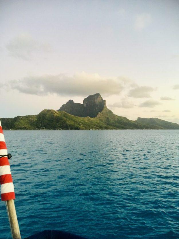 Caldera in Bora Bora