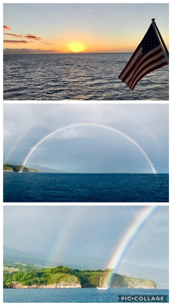 Double Rainbow over Point Venus
