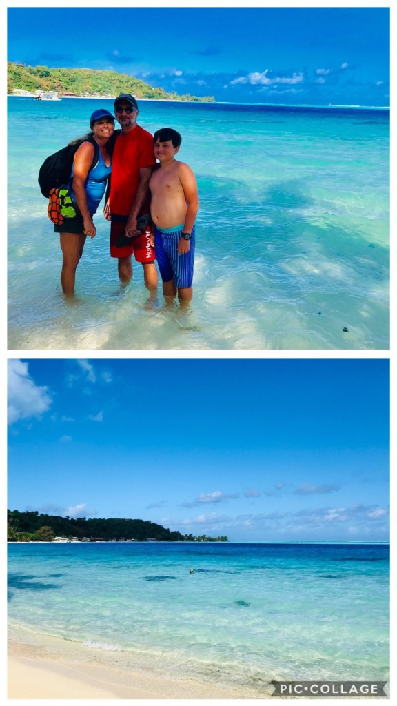 Walk along Bora's coast