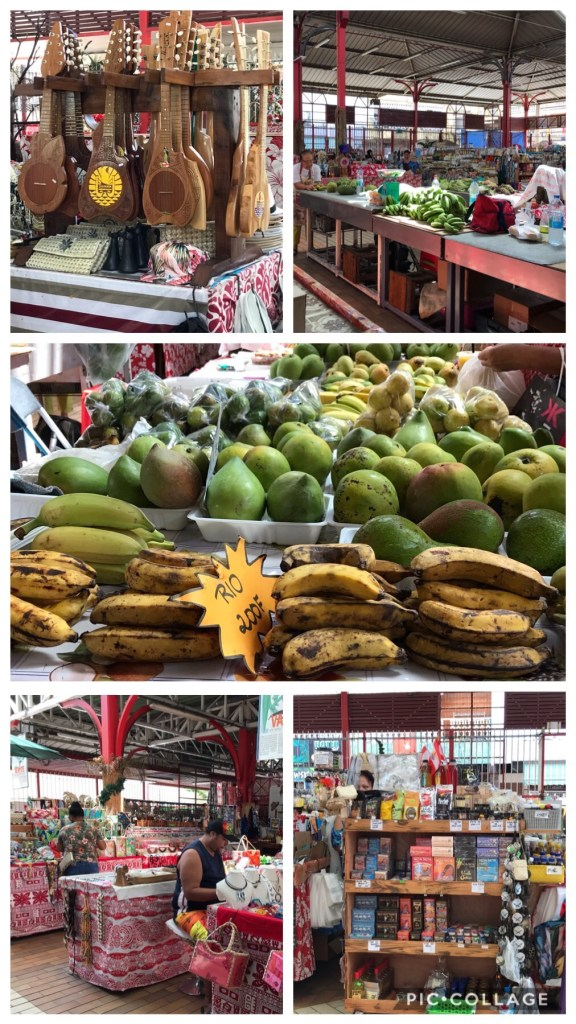 Fresh Market in Papeete