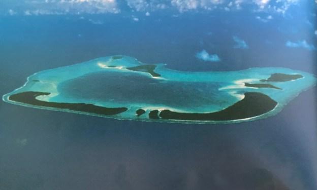 Teti'aroa aerial view