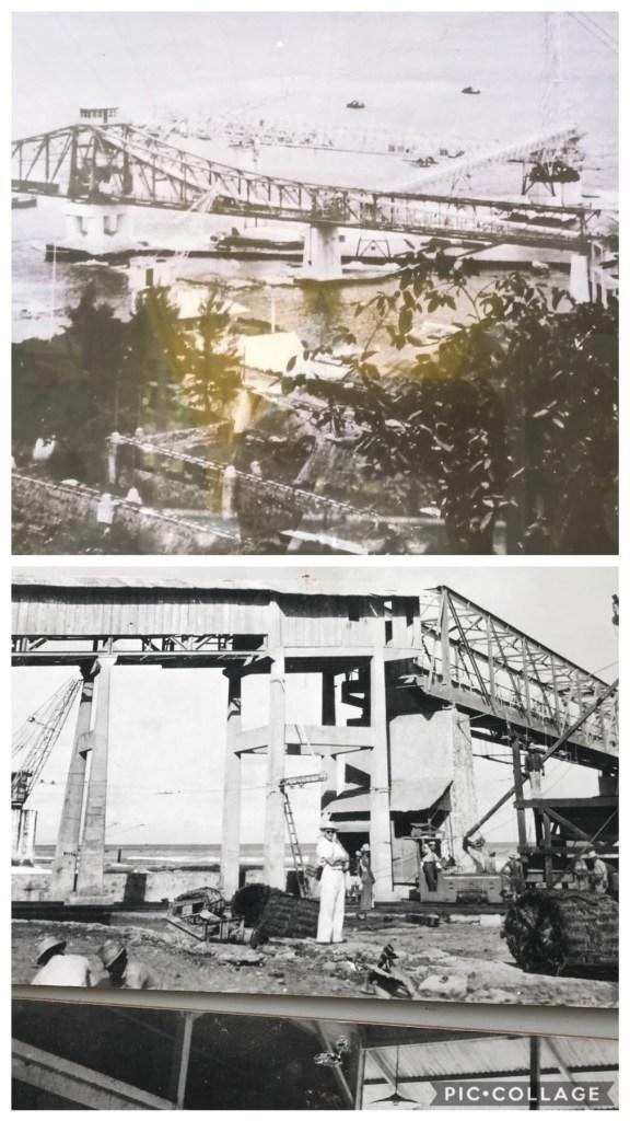 Makatea port in 1950s