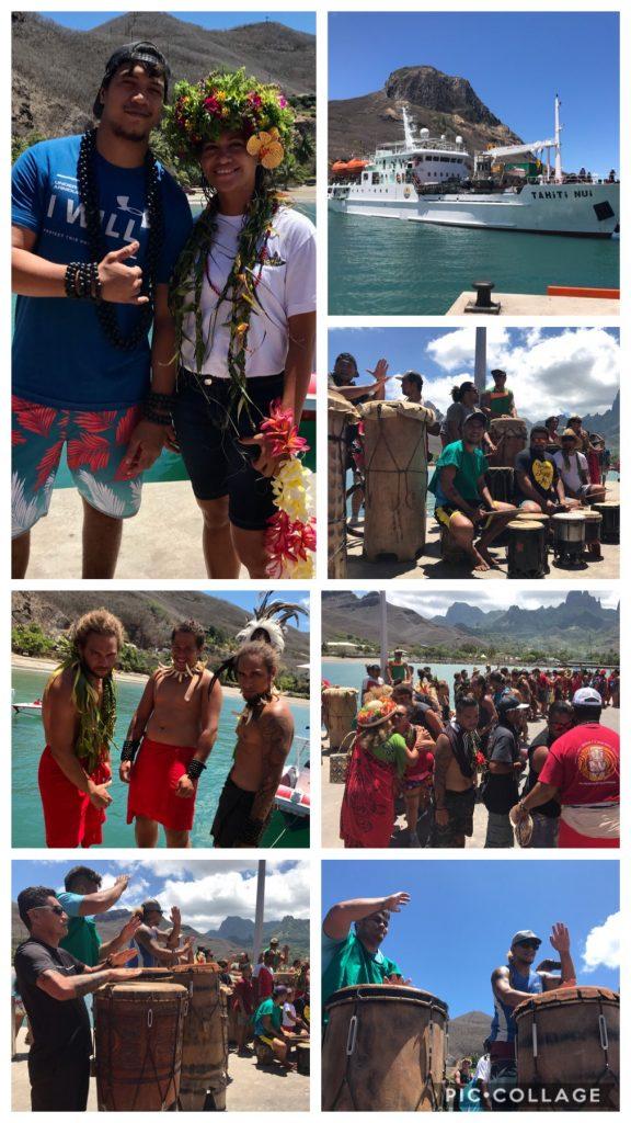 Welcoming the Tahiti Nui
