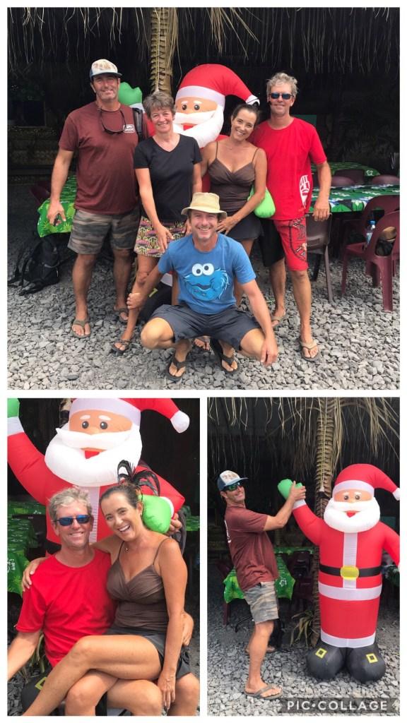 Santa in Paradise