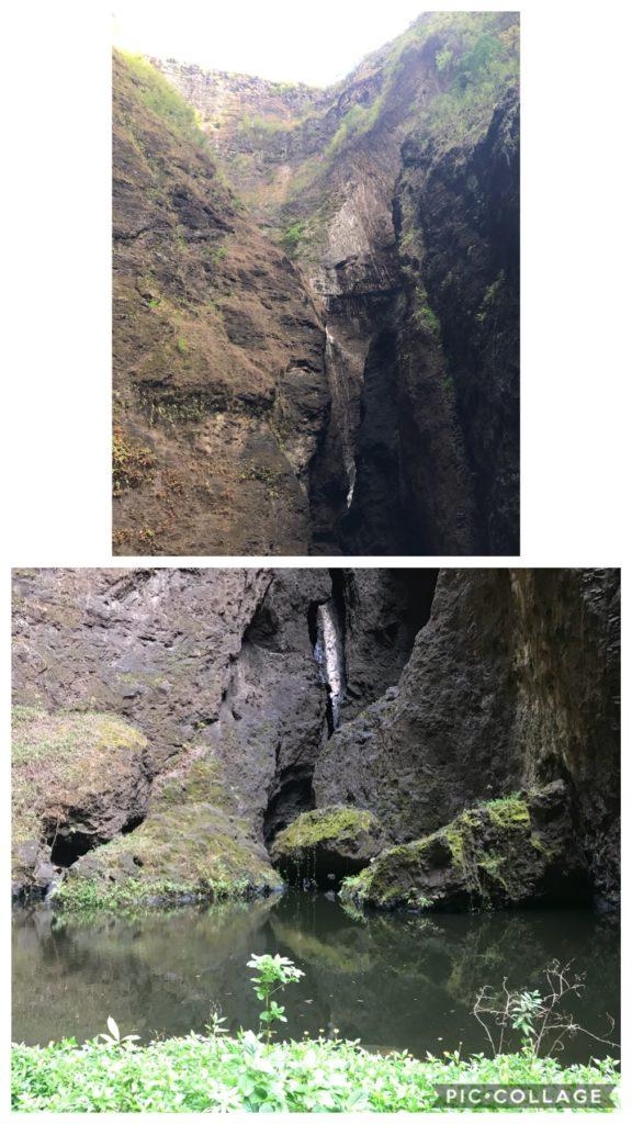 Hakatea Bay Waterfall