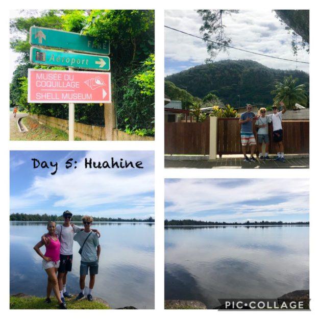 Huahine 8.2 mile walk