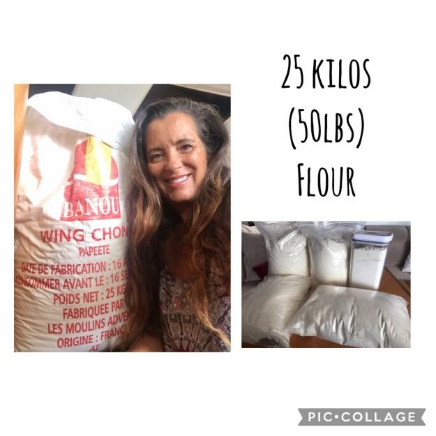 Big Bag o Flour from Tahiti
