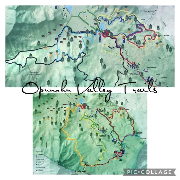 Opunohu Valley Trails