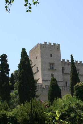 Castle in the Gardens