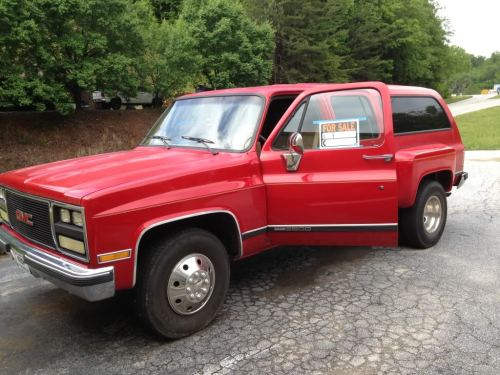 small resolution of 1989 gmc suburban 2500 dually