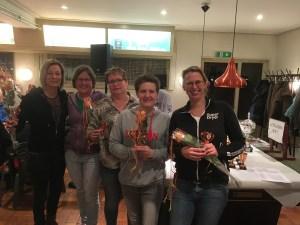 Dames team 3e plaats