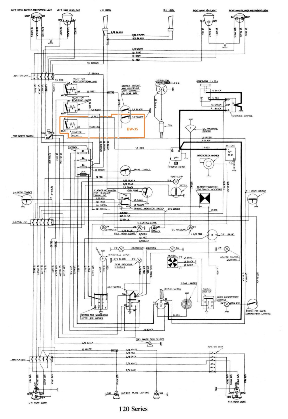 medium resolution of volvo amazon fuse box auto electrical wiring diagram volvo 240 speedometer not working sw 122s 20wiring