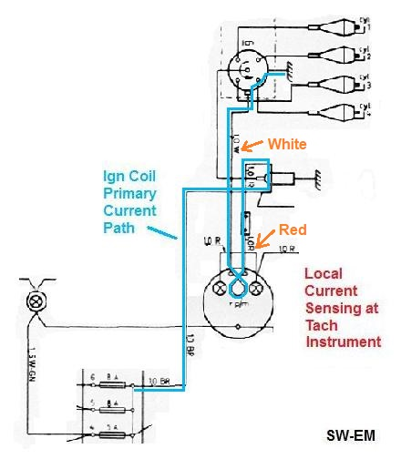 t1 cable wiring diagram e30 stereo sw-em smith's tachometer