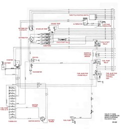 excerpt from 71 1800e wiring diagram with fuel injection system connections and components  [ 1910 x 1928 Pixel ]
