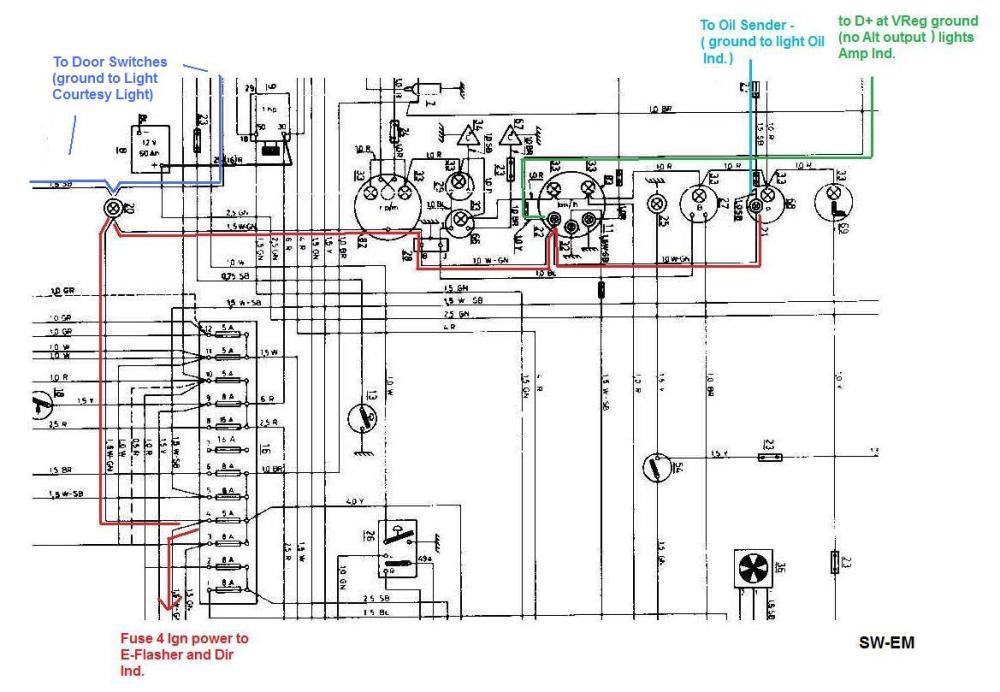 medium resolution of volvo motorola alternator external regulator wiring diagram