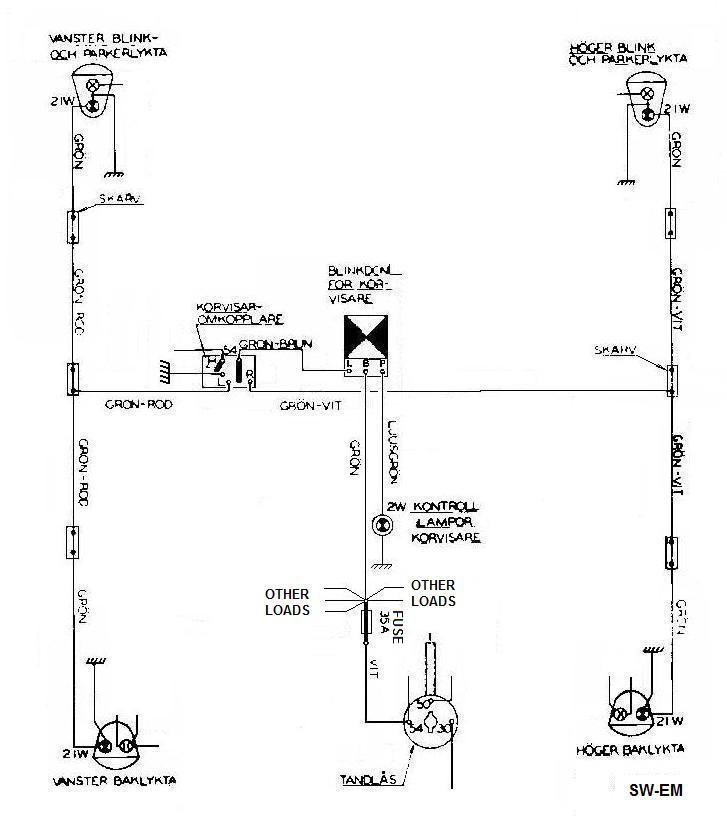 Directional Flasher Relay Wiring Diagram