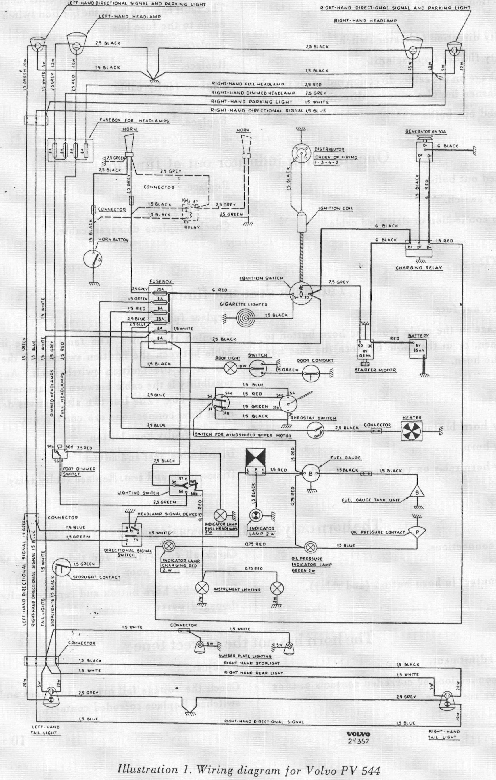 hight resolution of 1965 volvo 544 fuse box wiring diagram page 1965 volvo wiring diagram