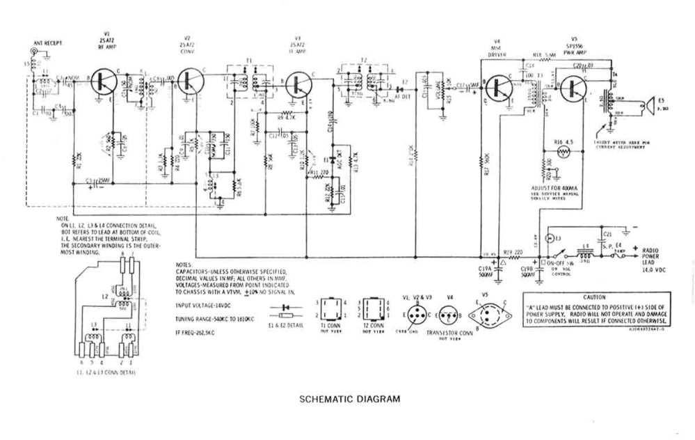 medium resolution of sw em radio notes schematic diagram of 707 am radio